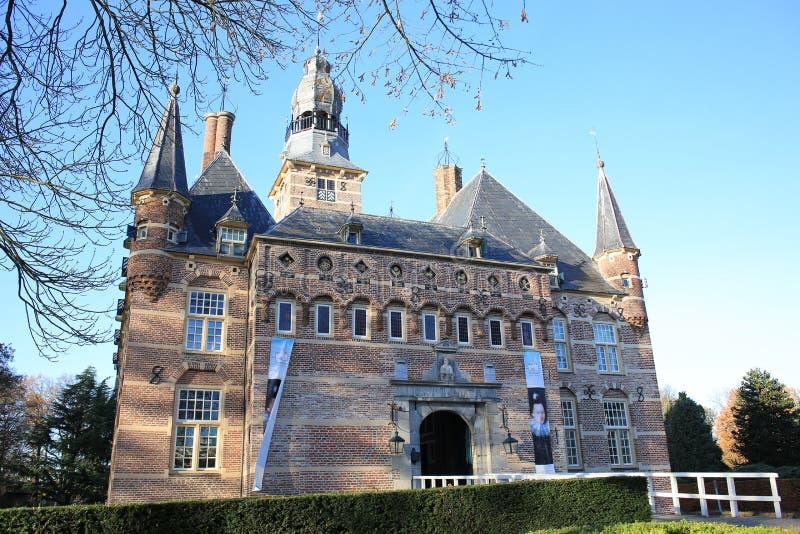 Το ιστορικό Castle Wijchen στην επαρχία Gelderland, οι Κάτω Χώρες στοκ εικόνες με δικαίωμα ελεύθερης χρήσης