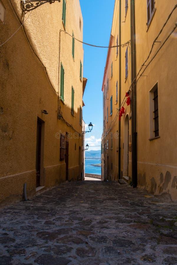 Το ιταλικό νησί Σαρδηνία στη Μεσόγειο στοκ φωτογραφία με δικαίωμα ελεύθερης χρήσης
