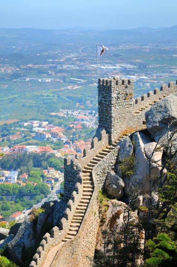 το κάστρο δένει στοκ φωτογραφία με δικαίωμα ελεύθερης χρήσης