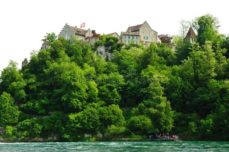 το κάστρο η Ελβετία στοκ εικόνες