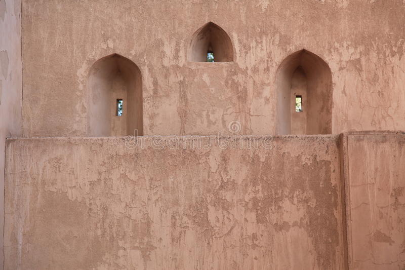το κάστρο οι επιφυλακές στοκ φωτογραφία με δικαίωμα ελεύθερης χρήσης