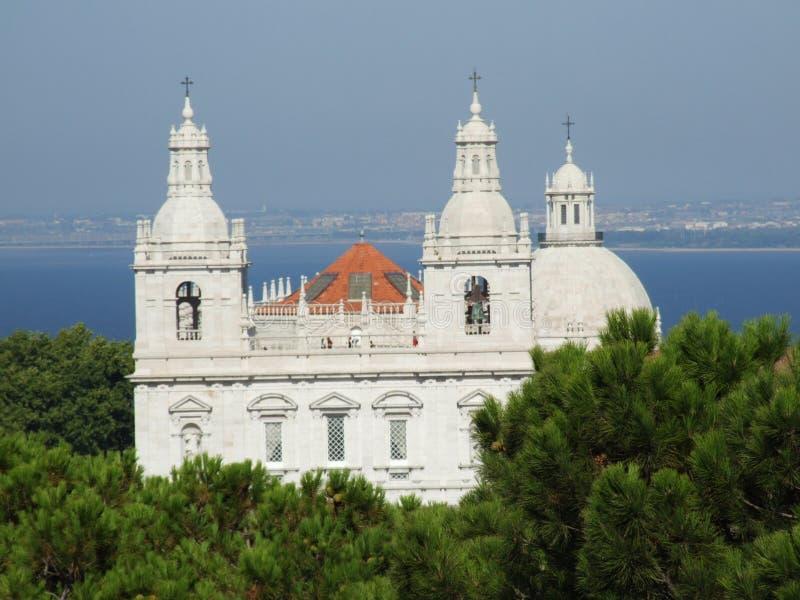 το κάστρο Jorge φαίνεται Άγιο&sigma στοκ φωτογραφίες με δικαίωμα ελεύθερης χρήσης