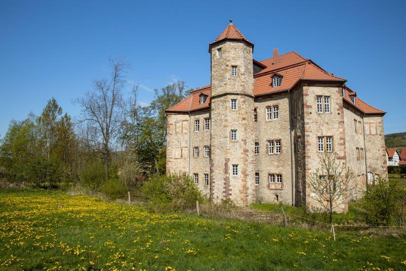 Το κάστρο Netra σε Hesse στοκ εικόνα με δικαίωμα ελεύθερης χρήσης