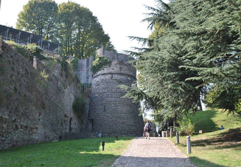 Το κάστρο SAN Vigilio στοκ εικόνα με δικαίωμα ελεύθερης χρήσης