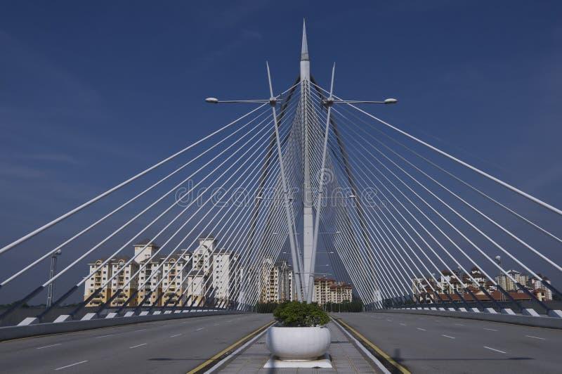 το κέντρο καλωδίων γεφυ&rho στοκ εικόνα