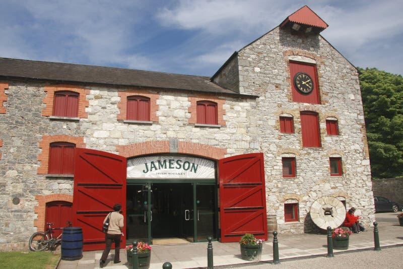 Το κέντρο κληρονομιάς Jameson σε Midleton Ιρλανδία στοκ εικόνα