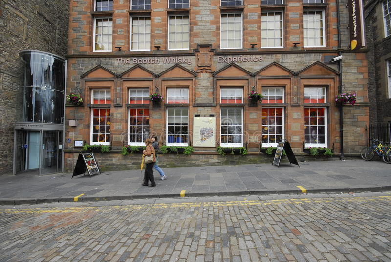 Το κέντρο κληρονομιάς σκωτσέζικου ουίσκυ στοκ εικόνες