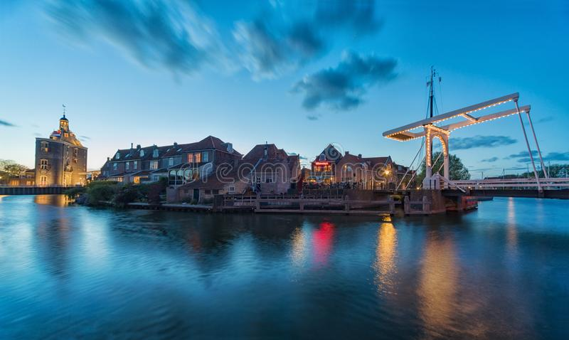 Το κέντρο Enkhuizen στις Κάτω Χώρες στοκ φωτογραφία με δικαίωμα ελεύθερης χρήσης