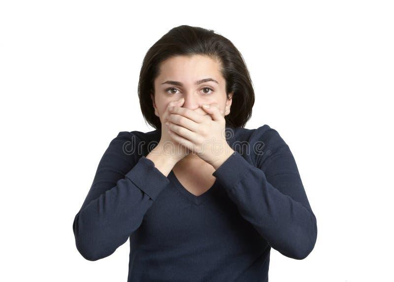 το κακό κανένα μιλά στοκ φωτογραφία με δικαίωμα ελεύθερης χρήσης