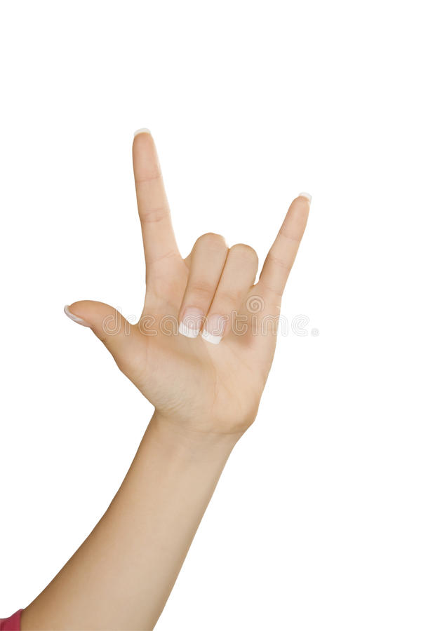 το κακό ψεύτικο χέρι χειρονομίας σημαίνει το αριθ στοκ εικόνες με δικαίωμα ελεύθερης χρήσης
