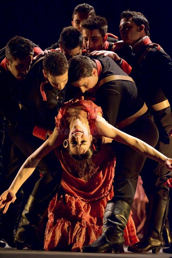 Το καλύτερο Flamenco δράμα χορού: Carmen στοκ φωτογραφίες