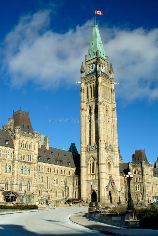 το καναδικό Κοινοβούλι&om στοκ φωτογραφία με δικαίωμα ελεύθερης χρήσης