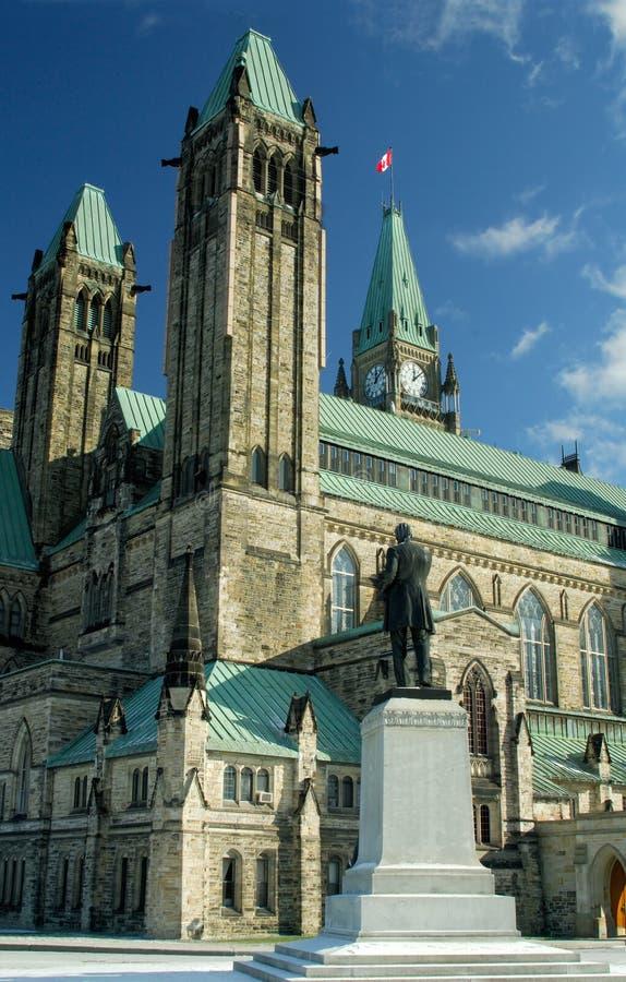το καναδικό Κοινοβούλι&om στοκ εικόνες
