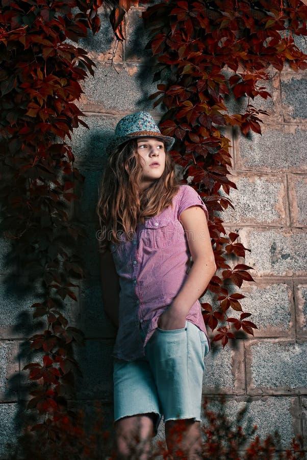 το καπέλο σταφυλιών κορ&iot στοκ φωτογραφία με δικαίωμα ελεύθερης χρήσης