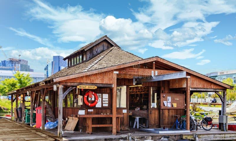 Το κατάστημα βαρκών στοκ φωτογραφία με δικαίωμα ελεύθερης χρήσης