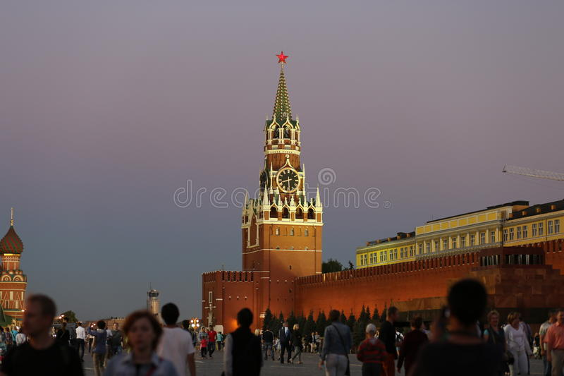 Το κεντρικό τετράγωνο της Μόσχας στοκ φωτογραφία με δικαίωμα ελεύθερης χρήσης
