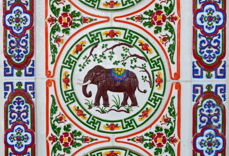 το κινεζικό ύφος κεραμών&epsilo στοκ εικόνες