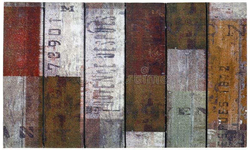 Το κλασικό εκλεκτής ποιότητας πολυ χρώμα τύπωσε το υπαίθριο χαλί πορτών στοκ φωτογραφία με δικαίωμα ελεύθερης χρήσης