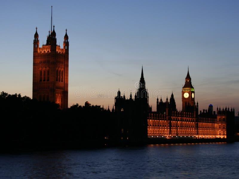 το Κοινοβούλιο σπιτιών στοκ εικόνα