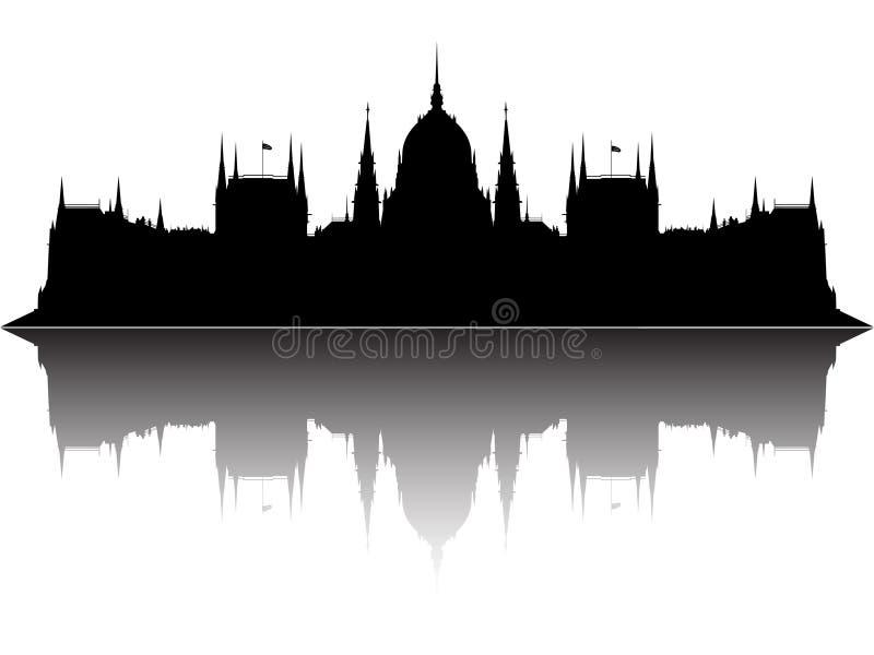 το Κοινοβούλιο της Ου&ga απεικόνιση αποθεμάτων