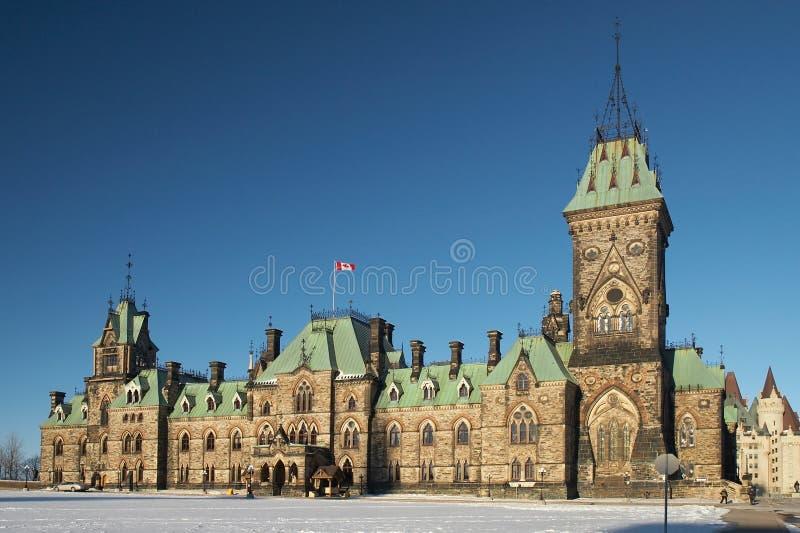 το Κοινοβούλιο του Καναδά στοκ φωτογραφίες