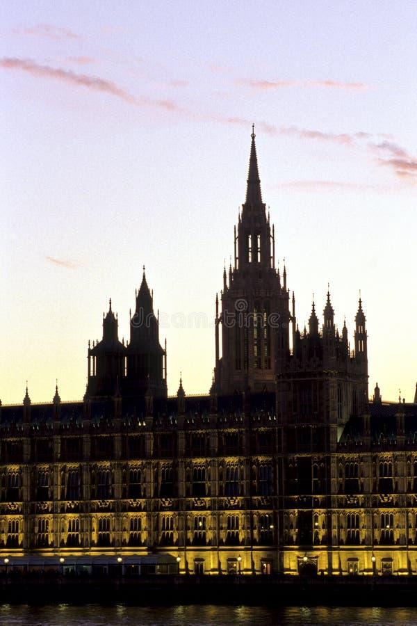 το Κοινοβούλιο του Λονδίνου στοκ φωτογραφίες