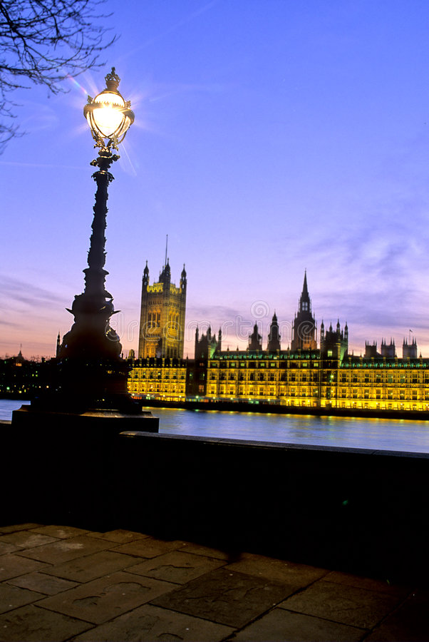 το Κοινοβούλιο του Λονδίνου στοκ εικόνα