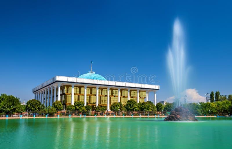 Το Κοινοβούλιο του Ουζμπεκιστάν στην Τασκένδη στοκ εικόνες