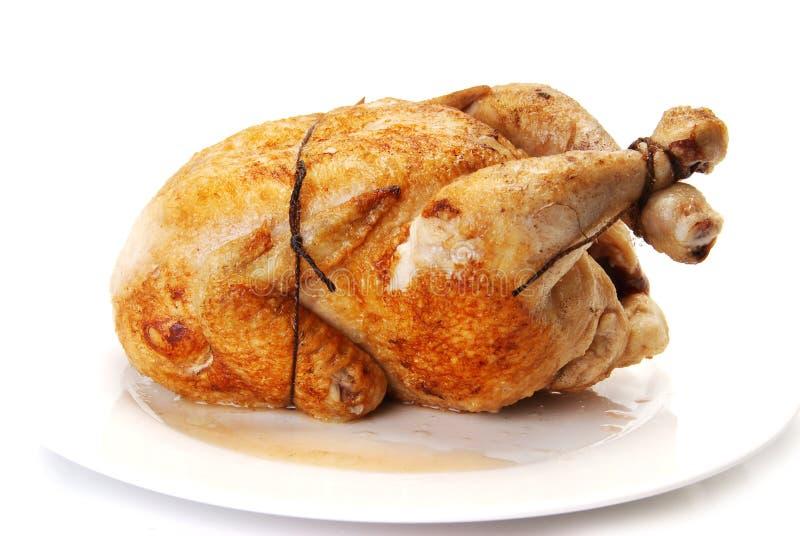 το κοτόπουλο τηγάνισε το σύνολο στοκ εικόνα με δικαίωμα ελεύθερης χρήσης