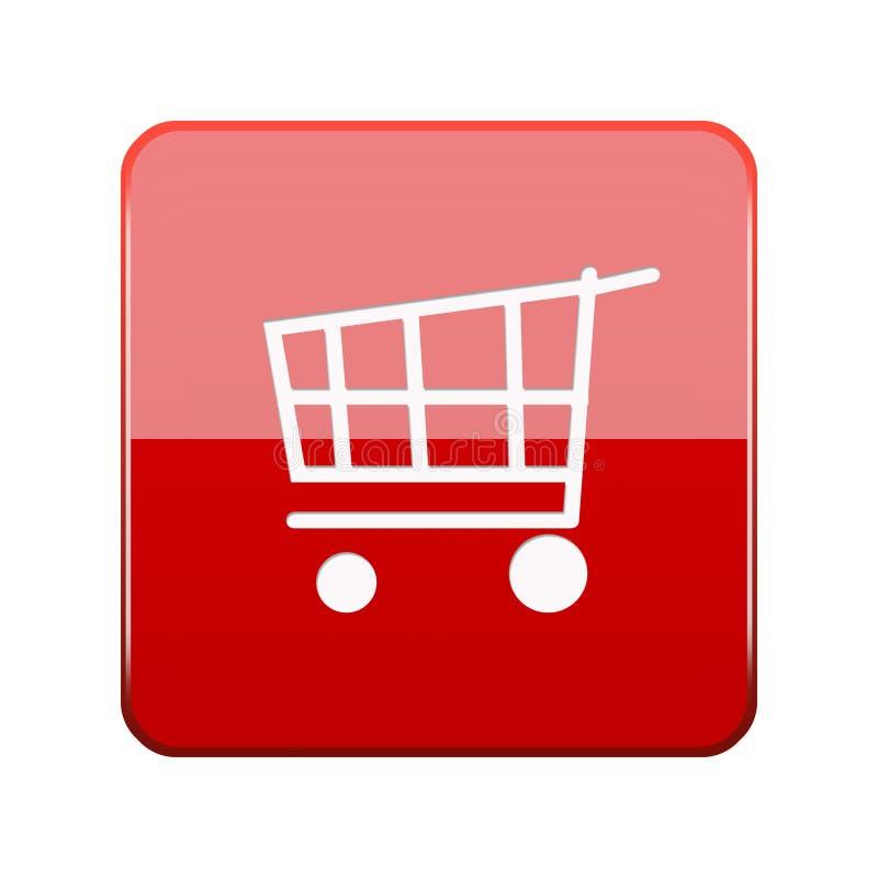 το κουμπί αγοράζει τον Ιστό διανυσματική απεικόνιση