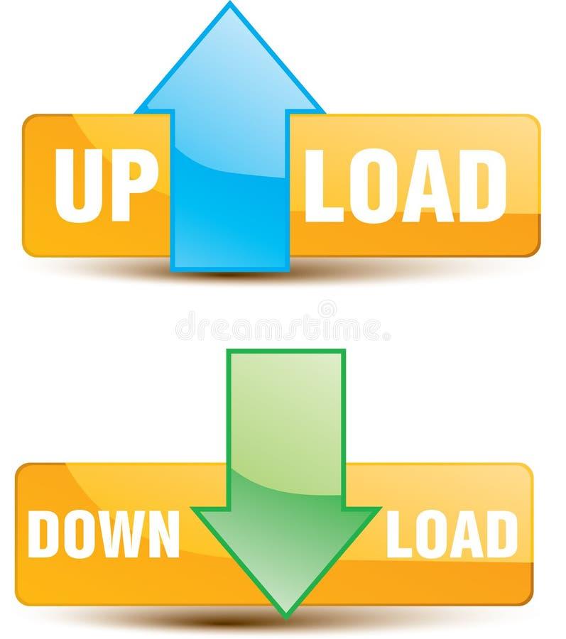 το κουμπί μεταφορτώνει φ&omic απεικόνιση αποθεμάτων