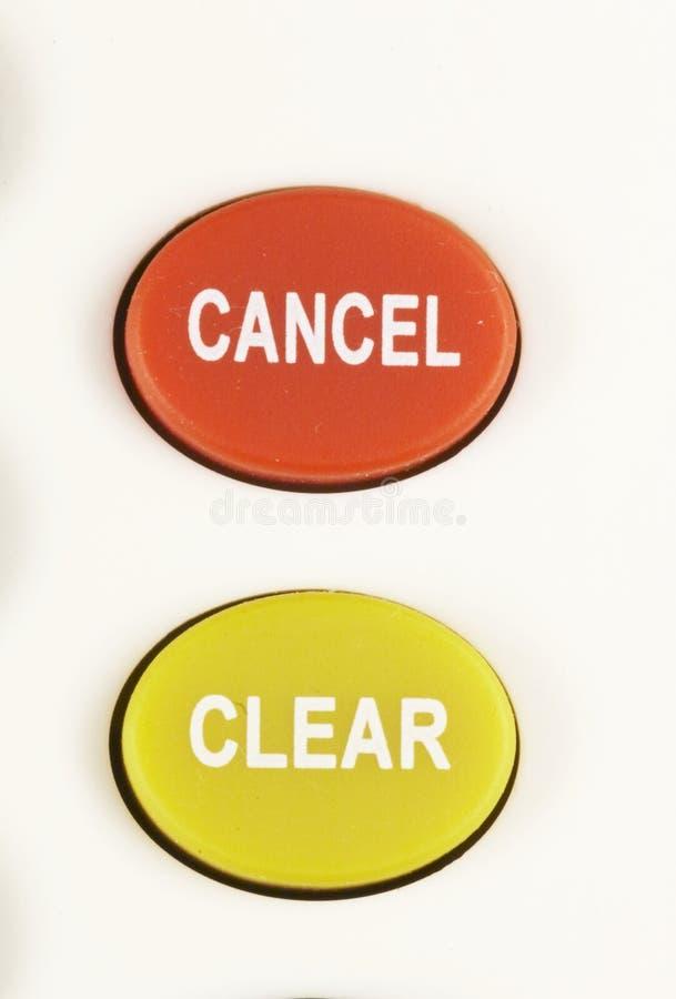 το κουμπί 03 ακυρώνει σαφή στοκ εικόνα με δικαίωμα ελεύθερης χρήσης