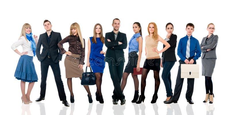 Το κολάζ διάφορων επιχειρηματιών σε διαφορετικό θέτει. στοκ φωτογραφίες με δικαίωμα ελεύθερης χρήσης