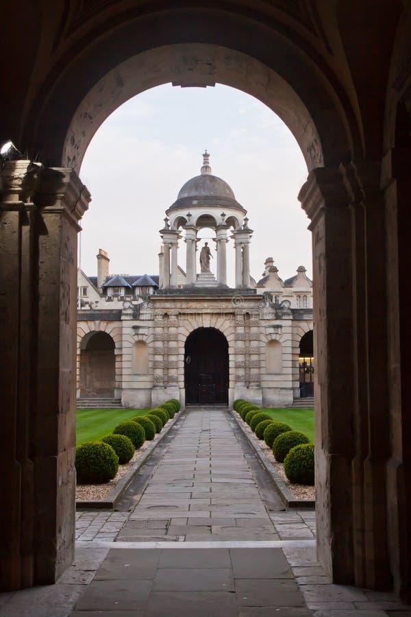Το κολλέγιο Οξφόρδη της βασίλισσας στοκ εικόνες