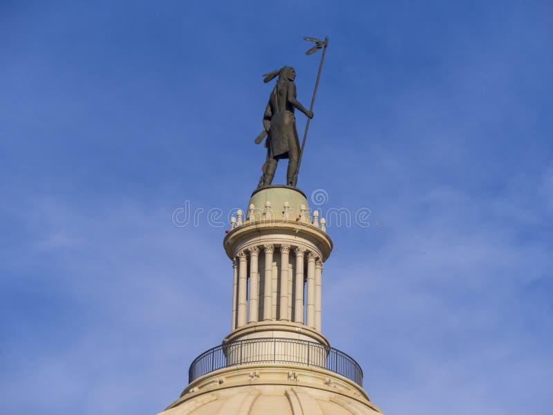 Το κράτος Capitol της Οκλαχόμα στη Πόλη της Οκλαχόμα στοκ φωτογραφίες με δικαίωμα ελεύθερης χρήσης