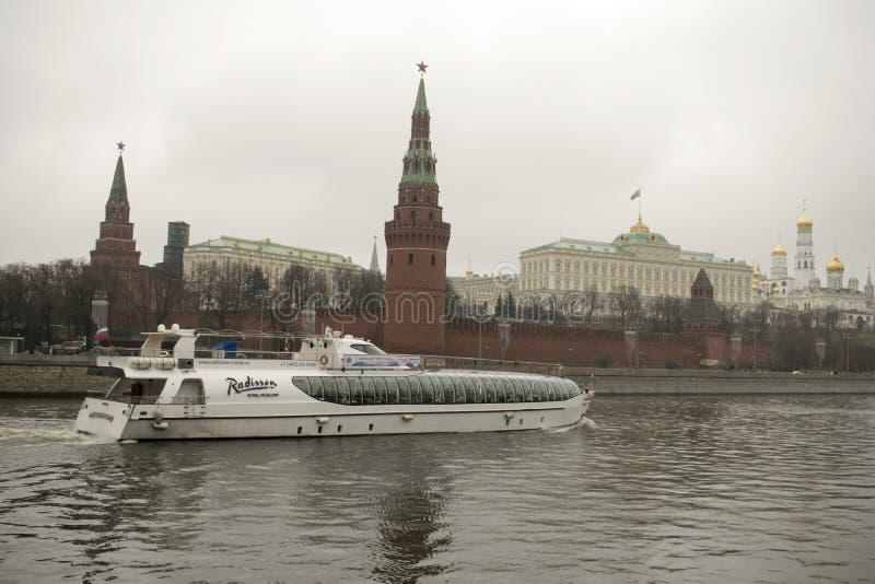 Το Κρεμλίνο είναι ενισχυμένο ένα σύνθετο στο κέντρο της Μόσχας στοκ εικόνες