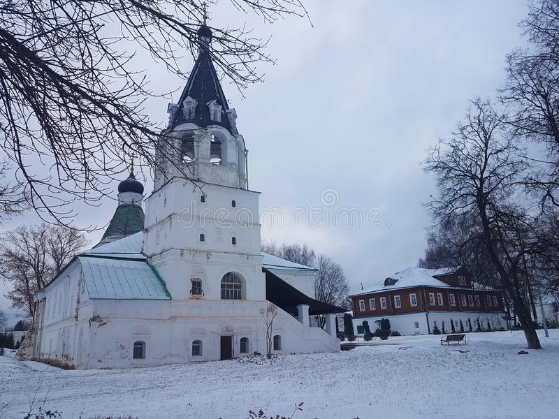 Το Κρεμλίνο και η προηγούμενη κατοικία του Ivan ο φοβερός στο χωριό του Α στοκ φωτογραφίες