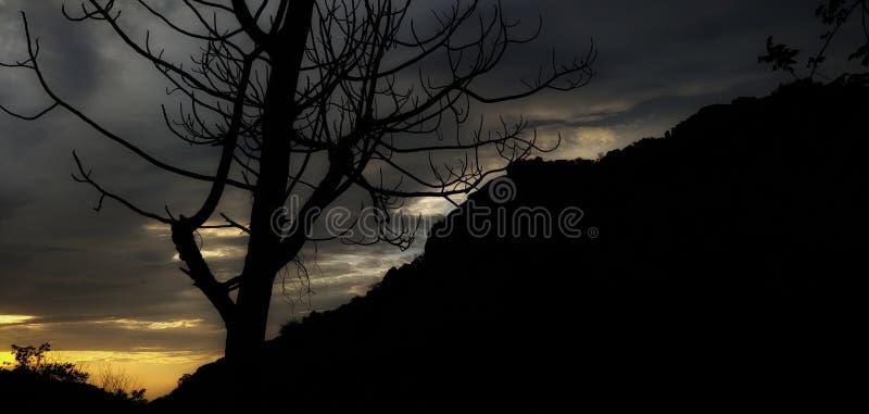 Το κρύο sunsets είναι όπως στοκ εικόνα