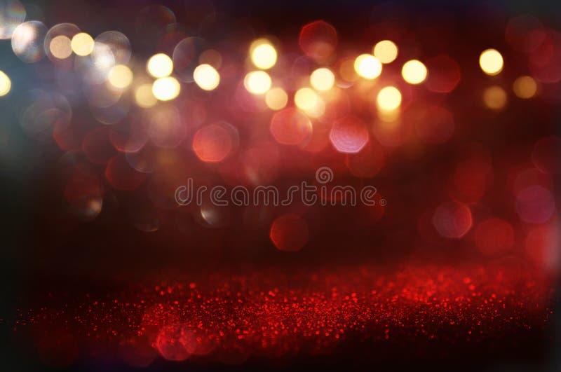 Το κόκκινο ακτινοβολεί εκλεκτής ποιότητας υπόβαθρο φω'των στοκ φωτογραφία