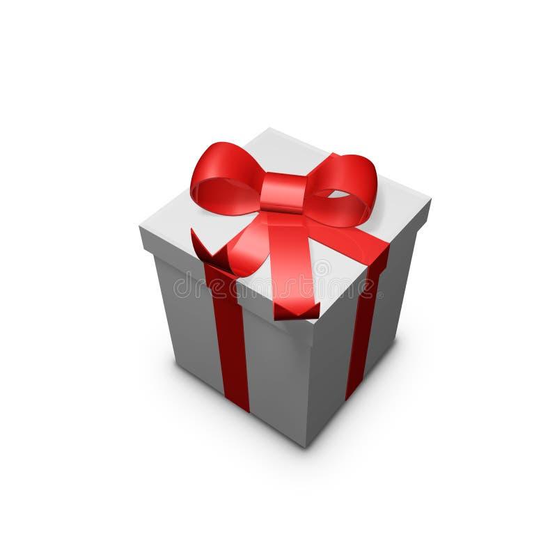 το κόκκινο δώρων ελεύθερη απεικόνιση δικαιώματος
