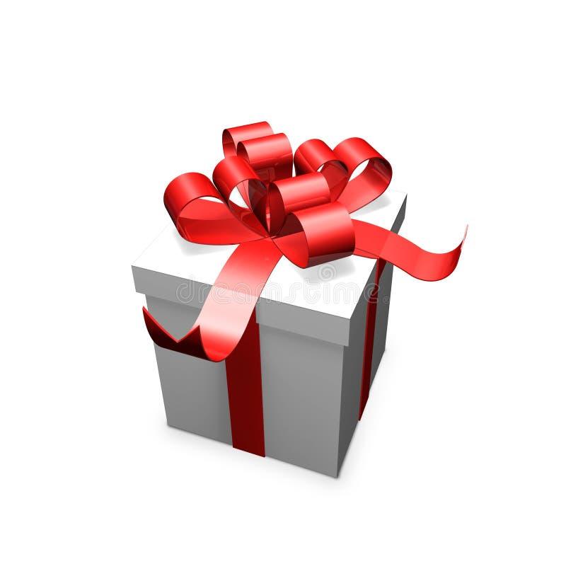 το κόκκινο δώρων απεικόνιση αποθεμάτων