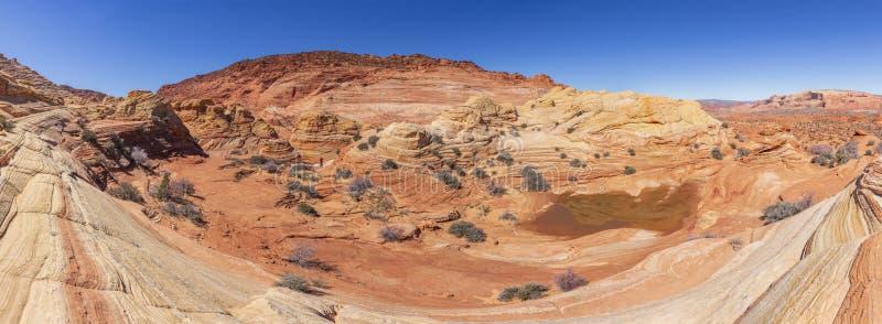 Το κύμα, λόφοι κογιότ, Αριζόνα, Ηνωμένες Πολιτείες στοκ εικόνες