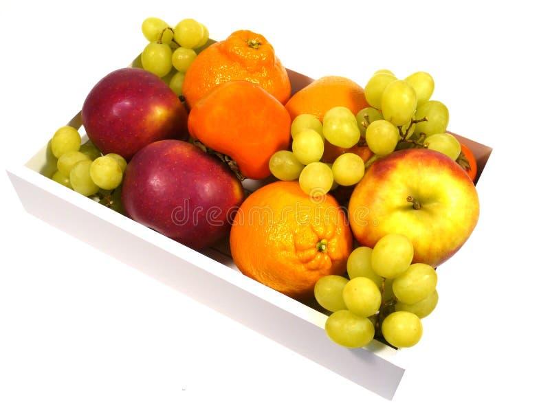 Το κύπελλο φρούτων με τα ζωηρόχρωμα φρούτα στοκ φωτογραφία με δικαίωμα ελεύθερης χρήσης