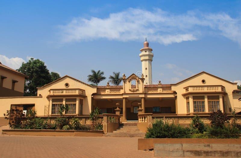 Το κύριο μουσουλμανικό τέμενος στην Καμπάλα Ουγκάντα στοκ εικόνες
