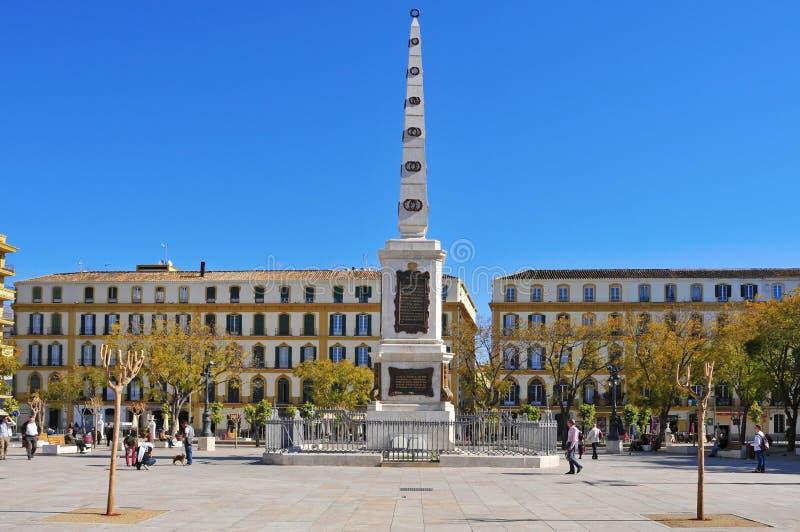 το Λα Μάλαγα de το plaza Ισπανία στοκ εικόνες με δικαίωμα ελεύθερης χρήσης