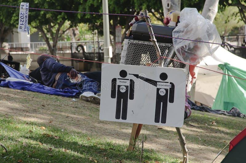 το Λα στρατοπέδευσης κ&al στοκ φωτογραφίες με δικαίωμα ελεύθερης χρήσης