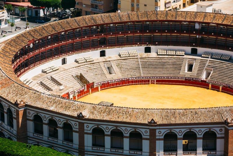 Το Λα Malagueta είναι η αρένα ταυρομαχίας Μάλαγα, Ισπανία στοκ φωτογραφίες με δικαίωμα ελεύθερης χρήσης