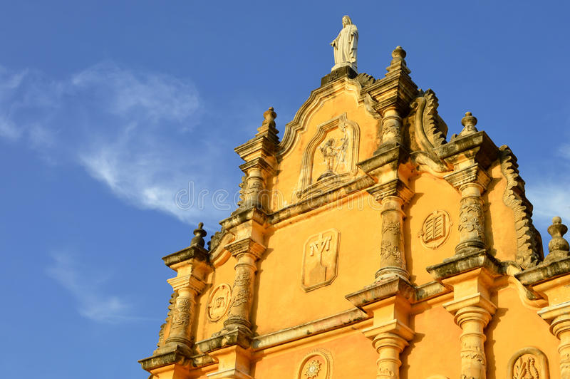 Το Λα Recoleccion Iglesia είναι μια από την κύρια πολιτιστική έλξη στοκ εικόνες