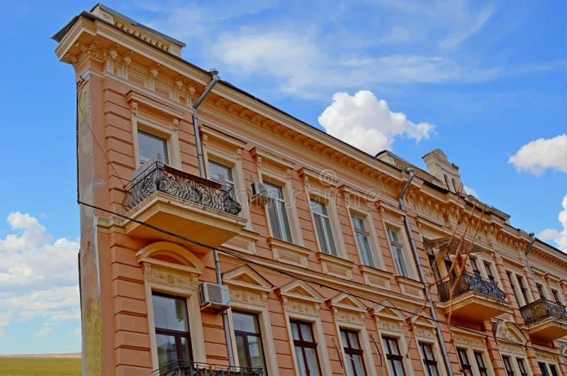 Το λεπτό σπίτι Οδησσός στοκ εικόνες