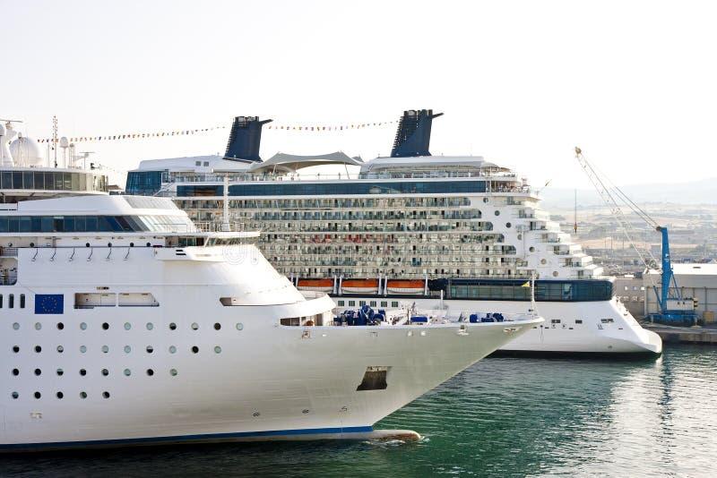 το λιμάνι κρουαζιέρας στέ& στοκ φωτογραφίες με δικαίωμα ελεύθερης χρήσης